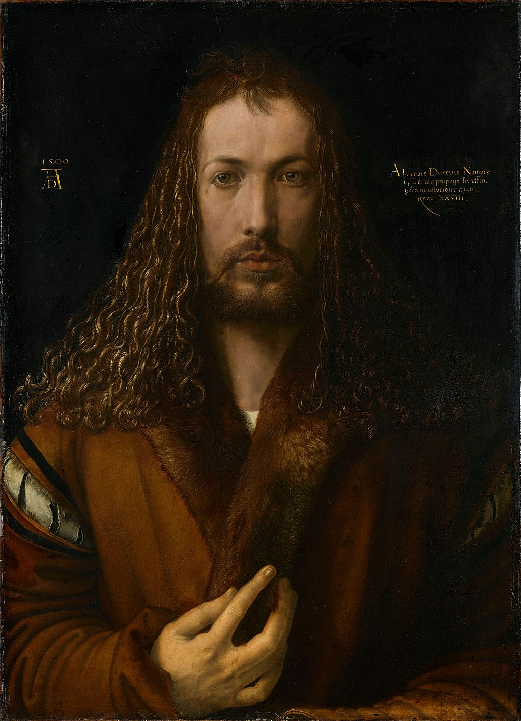 Albrecht Durer's Self-Portrait of 1500